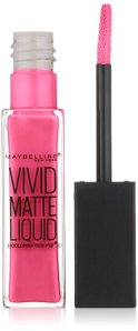 Maybelline New York Color Sensational Vivid Matte Liquid, Electric Pink