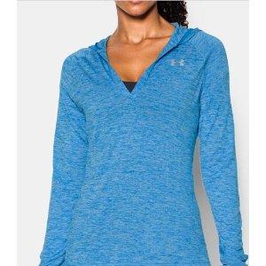 UA Tech™ Long Sleeve Hooded Henley