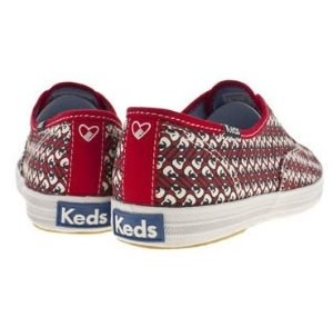 $17.50 Keds Women's Taylor Swift Guitar Red Fashion Sneaker