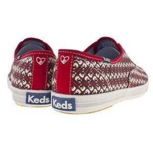 $17.50 Keds Women's Taylor Swift Guitar Red Fashion Sneaker