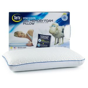 Serta StayCool Memory Foam Pillow
