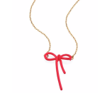 Marc Jacobs - Mini Enamel Bow Pendant Necklace - Saks.com