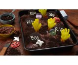Food-Celebrations - Zombie Graveyard Brownies - Walmart.com
