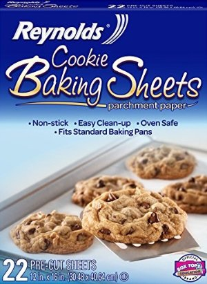 $2.26 Reynolds Cookie Baking Sheets Non-Stick Parchment Paper (22 Sheets)