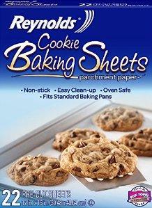 $2.26 Reynolds Cookie Baking Sheets Non-Stick Parchment Paper (22 Sheets)