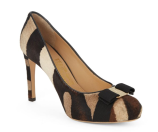 Salvatore Ferragamo - Pimpa Leather & Calf Hair Pumps - saksoff5th.com