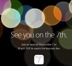 """如""""7""""而至,倒计时开始! 苹果正式宣布其秋季新品发布会将于9月""""7""""日召开"""