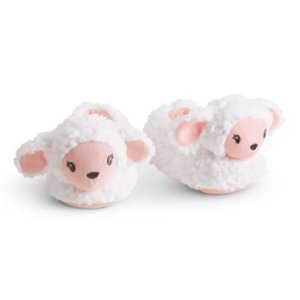 Lamb Slippers for Little Girls
