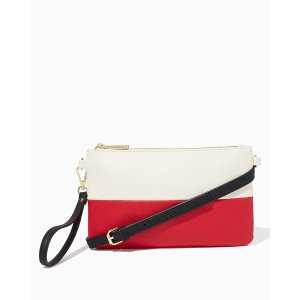 EVERYDAY COLORBLOCK CLUTCH
