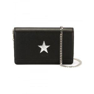 Givenchy Pandora Chain Wallet Clutch With Star Print | Tessabit shop online