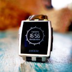$98.88 Pebble Steel Smartwatch Stainless