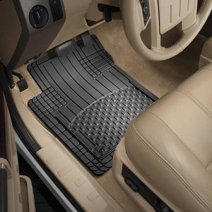 $29.69 WeatherTech Black All Vehicle Front & Rear Universal Mats