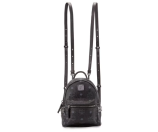 MCM Stark Side-Stud X-Mini Backpack, Black