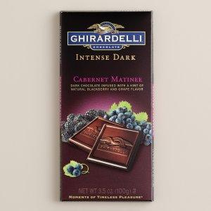 Ghirardelli Intense Dark Cabernet Matinee Chocolate Bar | World Market