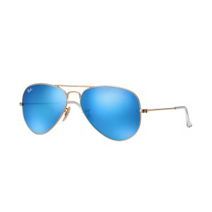 Ray-Ban Aviator Flash Lenses Gold, RB3025 | Ray-Ban® USA