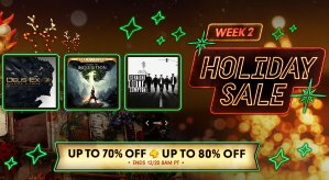 Up to 70% Off or 80% Off for PSN+PSN Holiday Sale Week 2