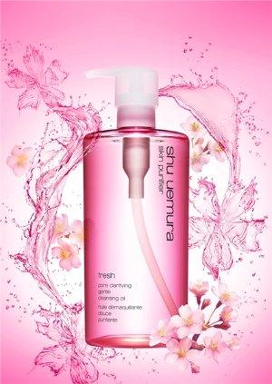 $73 Shu Uemura Skin Purifier POREfinist Anti-Shine Fresh Cleansing Oil @ COSME-DE.COM