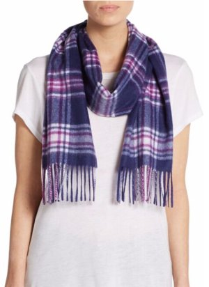 Select Saks Fifth Avenue Cashmere Scarf
