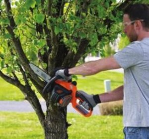 BLACK+DECKER LCS1020 20V MAX* Lithium Ion 10 in. Chainsaw
