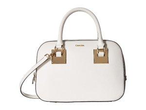 Calvin Klein Emma Saffiano Satchel Handbag