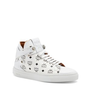 One Size MCM COLLECTION UNISEX SNEAKER in White
