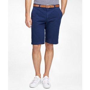Men's Garment-Dyed Bermuda Shorts | Brooks Brothers