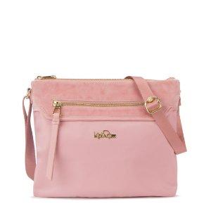 Freida Crossbody Bag - Soft Pink Velvet