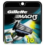 Gillette Mach3 Men's Razor Blade Refills 10 Count
