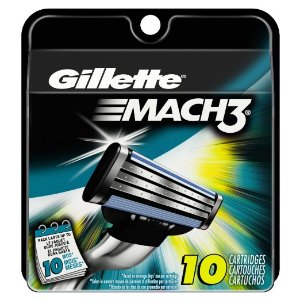 Gillette Mach3 Turbo Cartridges 10 Count