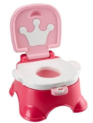 Fisher-Price Stepstool Potty @ Amazon