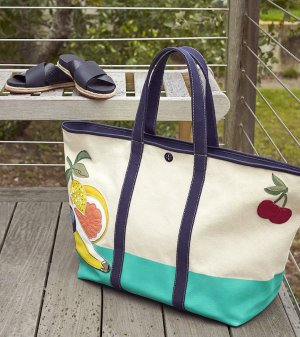 Tory Burch Penn Applique Tote