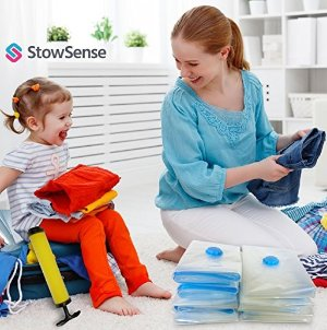 $15.89 Vacuum Storage Bags - 15 Pack Bundle
