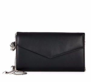 $949.99(原价$1490)Alexander McQueen 黑色信封手包