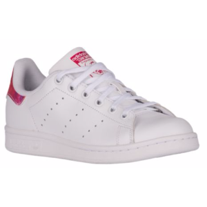adidas Originals Stan Smith - Girls' Grade School - Casual - Shoes - Shock Pink/White/White