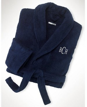 Extra 15% Off Langdon Solid Bathrobe  @ Ralph Lauren