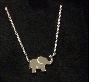 $15.77(reg.$19.95) Sterling Silver Elephant Necklace ,18