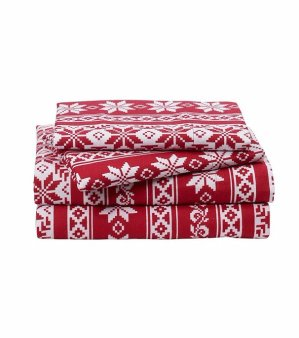 LivingQuarters Heavy-Weight Flannel Sheet Sets - Twin Size