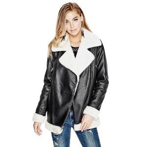 Lara Longline Moto Jacket
