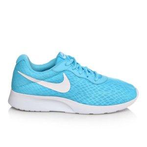 Women's Nike Tanjun BR Blue/White | Shoe Carnival