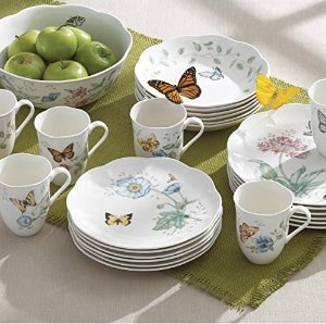 Up to 70% Off+Extra 15% Off Lenox Butterfly Dinnerware Set @ macys