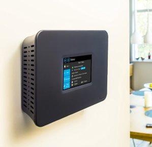 Securifi Almond+ Long Range Touchscreen Wireless AC Gigabit Router ALMP-BLK-US - Works with Alexa