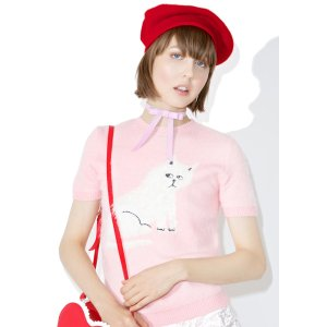 Lazy Oaf Furry Kitty Knit Top | Dolls Kill