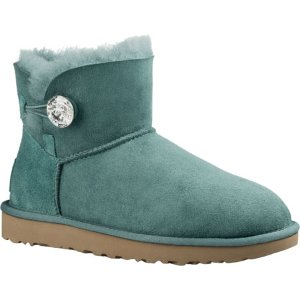 Womens UGG Mini Bailey Button Bling - FREE Shipping & Exchanges