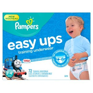 $2 OffPrime Member Only! Pampers Easy Ups Training Underwear @ Amazon