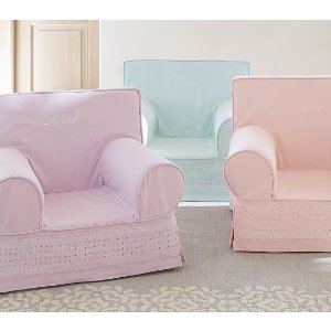Eyelet Anywhere Chairs® | Pottery Barn Kids