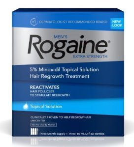 $35.62 Rogaine Men's Extra Strength Solution, 2 Oz. (Pack of 3)
