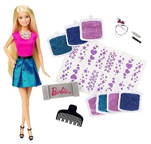 $5.99 Barbie Glitter Hair Design Doll