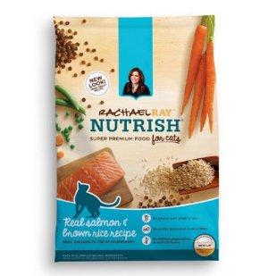 $8.07包邮Rachael Ray Nutrish 天然三文鱼营养猫干粮*6磅