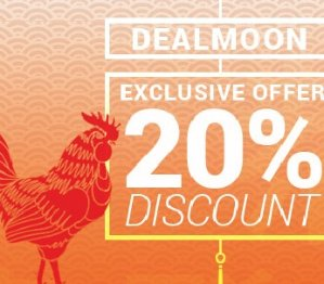 Up to 20%Chinese New Year Special for Dealmoon