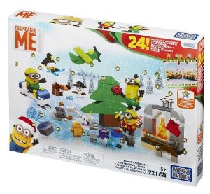 Mega Bloks Minions Movie Advent Calendar @ Amazon
